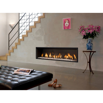 Gas fireplaces Bellfires Horizon Bell XL