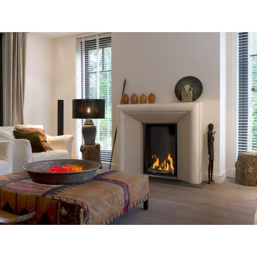 Gas fireplaces Bellfires Vertical Bell Small