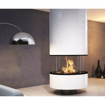Designer fireplace Jc Bordelet IRENA