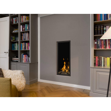Gas fireplaces Bellfires Vertical Bell Medium
