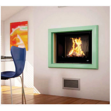 Fireplace insert Seguin Visio 8 BLACK LINE