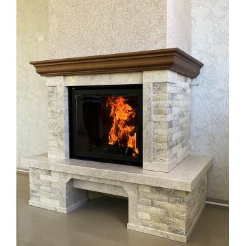 Buy fireplace KOBOK Chopok L LD from Slovakia in Kharkiv Poltava Ukraine