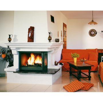 Fireplace Seguin-Panoramic-с-боковым-стеклом