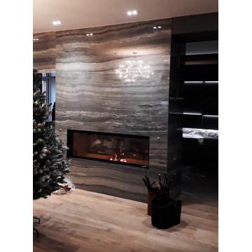 Fireplace Brunner 53/166 Architektur-Kamin гильотина
