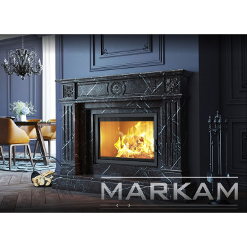 "Buy marble fireplace portal in Dnipro - Markam "" Davi"""