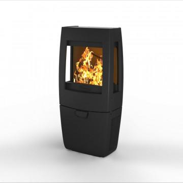 Buy oven Kharkiv-Dovre Sense 203 - Black