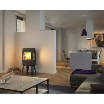 Buy fireplace Kharkiv-Dovre Sense 303-Three-sided cast iron fireplace