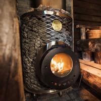 Finnish sauna stove Mini-IKI in Kharkiv Ukraine