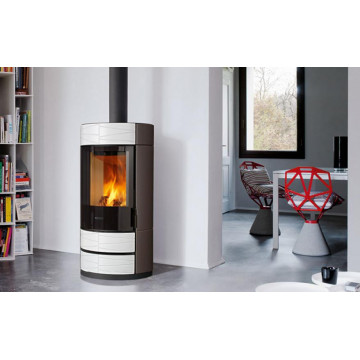 Stove fireplace Kharkiv Piazzetta ROUND buy with delivery in Ukraine