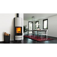 Stove fireplace Kharkiv Piazzetta ROUND H BSC Hermetic