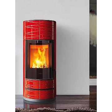 Stove fireplace Kharkiv Piazzetta ROUND M Hermetic