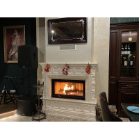 Kharkiv, Kiev: Modern fireplace, stove: Examples of works: Facing-tile