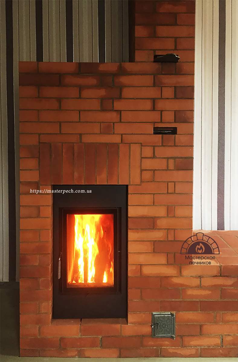 Oven in Kharkiv furnace Brunner HKD 2.2 from The workshop of stoves