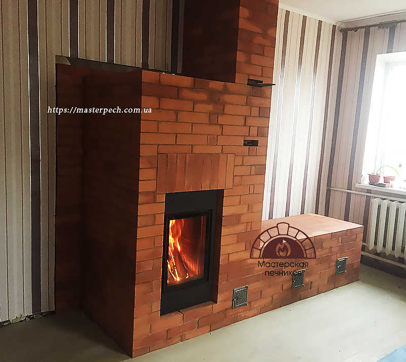 Kharkiv Brunner furnace HKD 2.2 heat storage flues
